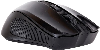 Ad Net AD868 5 Button Wireless Optical Mouse(USB, Black)