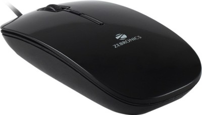 Zebronics Stream Wired Optical Mouse