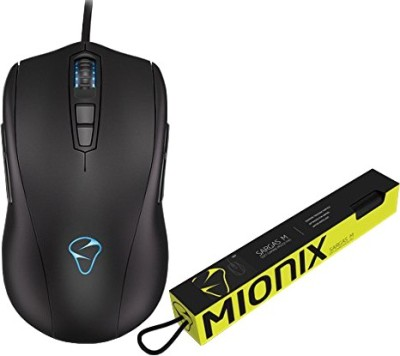 Mionix AVIOR 7000 with SARGAS Medium Mousepad Wired Optical Gaming Mouse