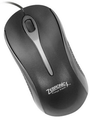 Zebronics Rio OM118 USB Wired Optical Mouse Gaming Mouse