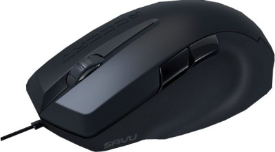 Roccat Savu Mid-Size Hybrid Wired Optical Gaming Mouse