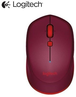 Logitech M337 RED Wireless Optical  Gaming Mouse(Bluetooth, Red) image