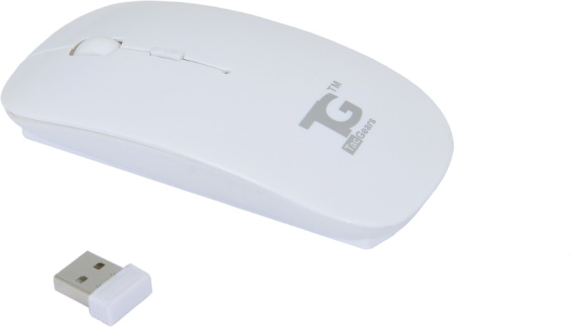 TacGears Cutie Wireless Optical Mouse(USB, White)