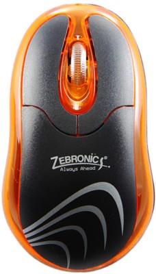 Zebronics Petal Orange Wired Optical Mouse