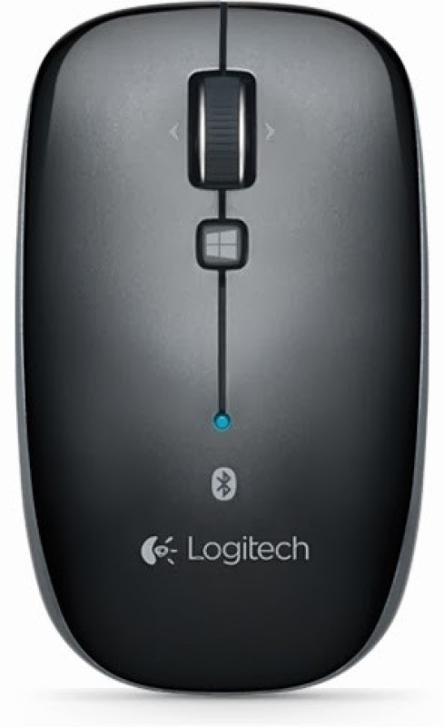 Logitech M557 Wireless Optical Mouse(USB, Black)