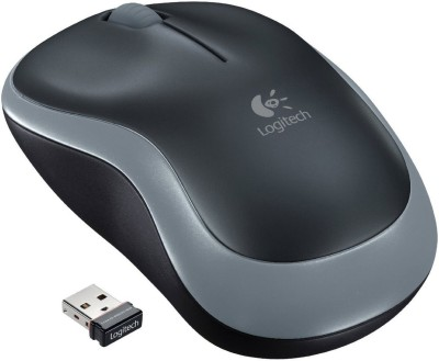 Logitech M185 Wireless Optical Mouse Gaming Mouse(USB, Black)