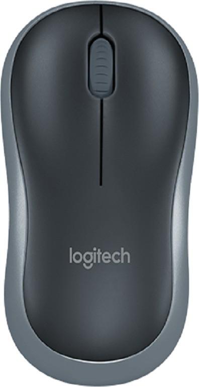 Logitech M185 Wireless Optical  Gaming Mouse(USB, Black) image