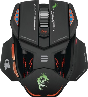 Dragon War Phantom Wired Laser Mouse Gaming Mouse(USB)