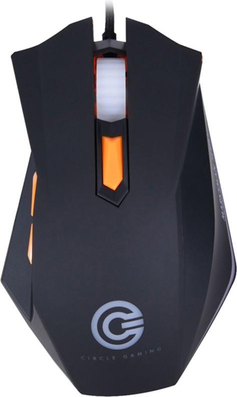 Circle CG Marksman 4 Wired Optical  Gaming Mouse(USB, Black) image