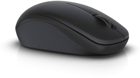 Dell WM126-BK Wireless Optical  Gaming Mouse(USB, Black) image