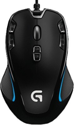 Logitech G300s Optical Gaming Mouse(USB, Black)