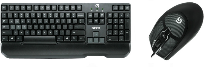 Logitech G100s Gaming Combo Wired Optical Gaming Mouse(USB) image