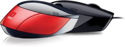 Iball Aero Dynamic Blue Eye (Full Black) Wired Optical Mouse