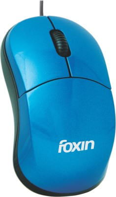 Foxin FOM2013 Wired Optical Mouse(USB, Blue) at flipkart