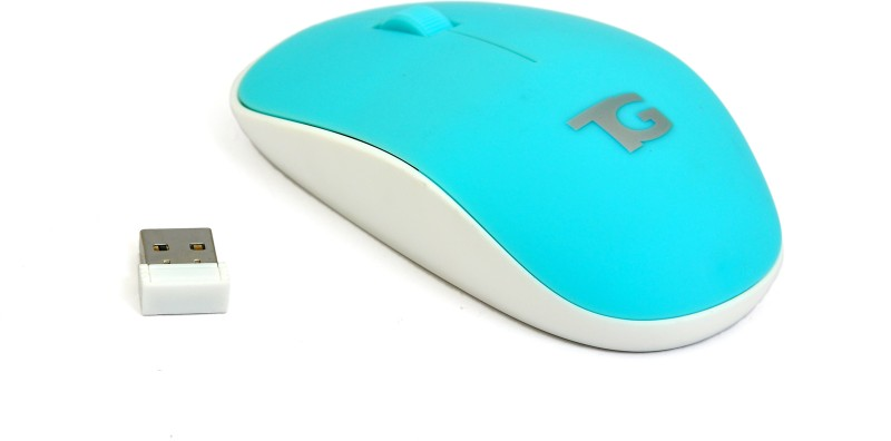 TacGears Rose Wireless Optical Mouse(USB, Blue)