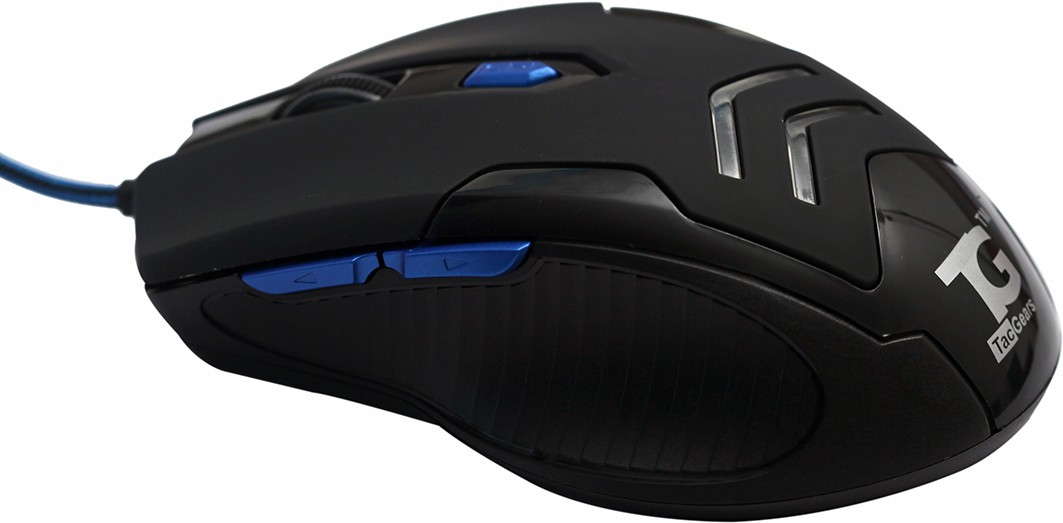TacGears M030 Wired Optical Mouse Gaming Mouse(USB, Black) image