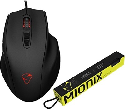 Mionix NAOS 3200 with SARGAS Medium Mousepad Wired Optical Gaming Mouse