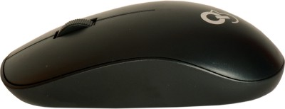 Q3 Speedy Star Techie Black Wireless Optical Mouse Gaming Mouse