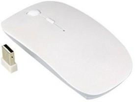 Tech Gear 2.4Ghz Ultra Slim Wireless Optical Mouse(USB, White)