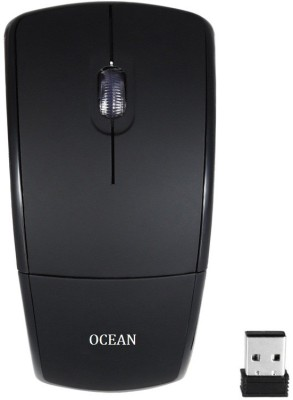 RoQ Ocean 2.4Ghz Foldable ARC Wireless Optical Mouse Gaming Mouse(USB, Black)