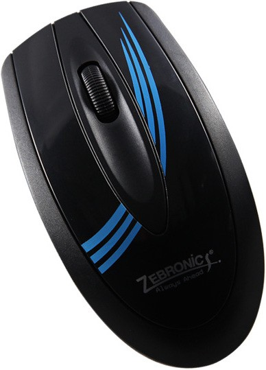 Zebronics Sail Blue Wired Optical Mouse(USB, Blue) image