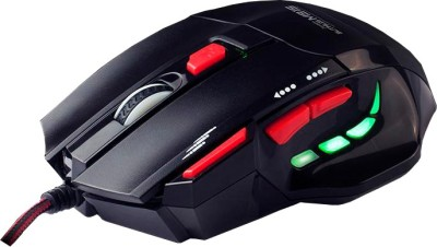MARVO Scorpion Buthus Wired Gaming Mouse with Mouse Pad Wired Gaming Mouse(USB, Black)