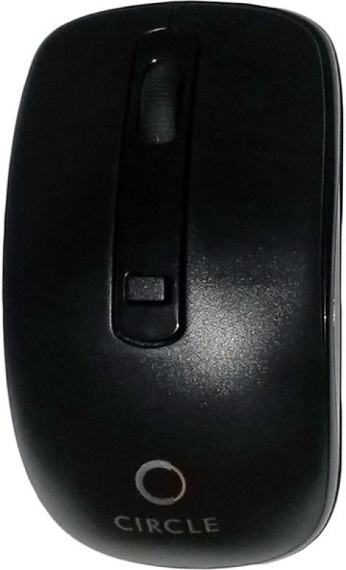 Circle Supreb Wireless Optical Mouse(USB, Black)