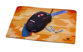 Zebronics Steam with Free Glide Mousepad Wired Optical Mouse Gaming Mouse