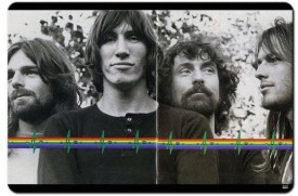 Shoperite Pink Floyd Band Psychedelic Mousepad