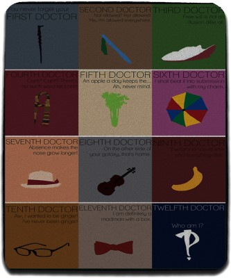 Get Fatang Time Lord,S Thingy Mousepad