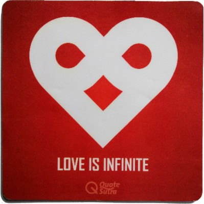QuoteSutra lOVEInfinite-MP Mousepad
