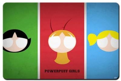 RangeeleShope Powerpuff Girls Mousepad Mousepad