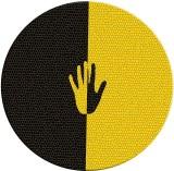 Desicase Colour Hand Round Mousepad (Mul...
