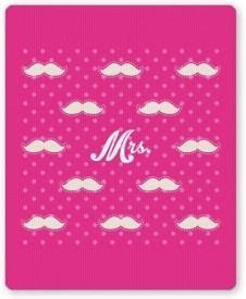 PosterGuy Mrs. Moustache Quirky Pattern Mousepad