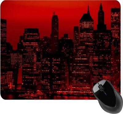 BSEnterprise Edge of the city Mousepad