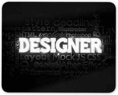 Digiclan Designer Mouse pad Mousepad