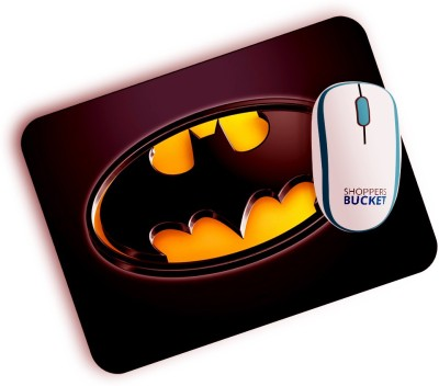 Shoppers Bucket BatmanLogo Mousepad