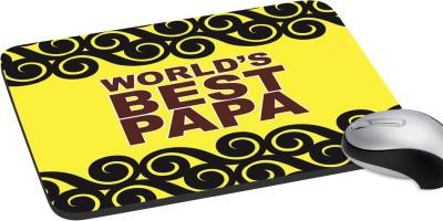 meSleep Worlds Best Papa Mousepad
