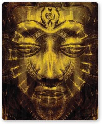 PosterGuy Lord Buddha Warm Golden Religious Mousepad