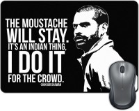 ShopMantra Shikhar Dhawan Quote Mousepad(Multicolor)