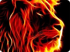 SYL Lion 1835 Mousepad