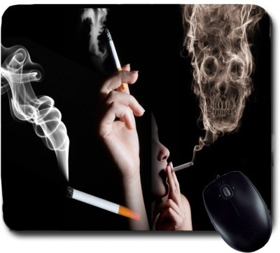 Awwsme Smoking Skull Mousepad