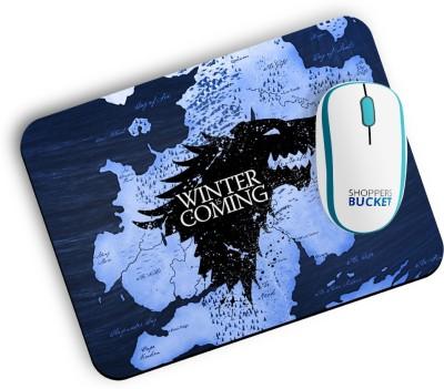 Shoppers Bucket Winter is Coming Mousepad Mousepad