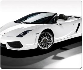 Magic Cases precise cloth and antislip Washable gift Lamborghini car logo super Mousepad(Multicolor)