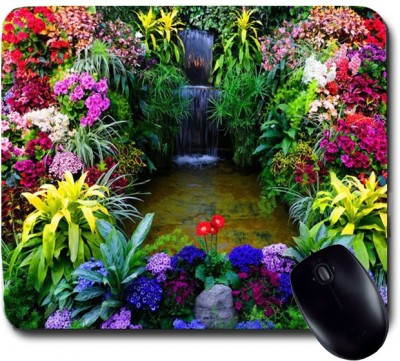 Awwsme Colorful Rarden Of Flowers Mousepad