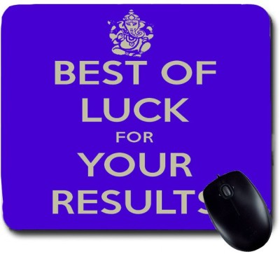 awwsme Best Of Luck For Your Results Mousepad