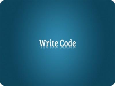 SYL Write Code Mousepad
