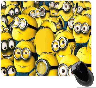 BSEnterprise Yellow Character Mousepad