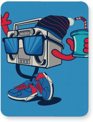 PosterGuy Pop Art Boom Box Mousepad