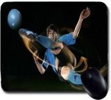 Awwsme Messi In Blue T- Shirt Hitting Ba...